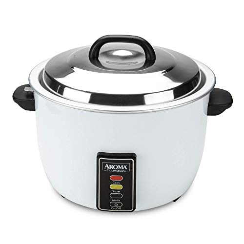 Aroma 48-Cup (Cooked) (24-Cup UNCOOKED) Commercial Rice Cooker (ARC-1024E)