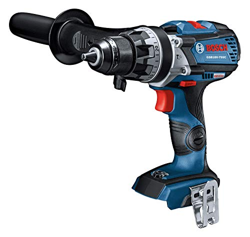 Bosch GSB18V-755CN 18V EC Brushless Connected-Ready Brute Tough 1/2 In. Hammer Drill/Driver (Bare Tool)