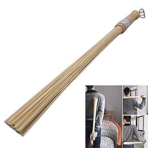 AKAMAS Bambus-Stab, stark, strapazierfähig, professionelle Bambus-Pflanzenunterstützung für den Garten, natürliche Bambus-Massagewerkzeuge, Fitness-Pat-Hammer, Gesundheitspflege