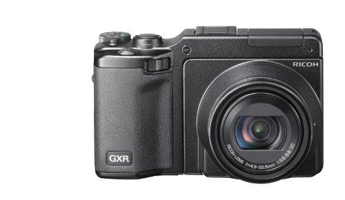Ricoh GXR Systemkamera (10 Megapixel, 10-fach optischer Zoom, 7,6 cm (3 Zoll) Display, HD Video) Kit inkl. P10 28-300mm Objektiv