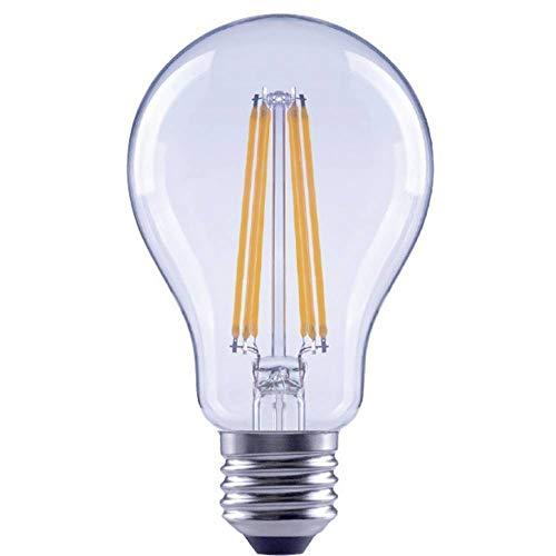 Bombilla LED EEC: A++ (A++ – E) Sygonix SY-4318642 E27 Potencia: 12 Wp blanco cálido 12 kWh/1000 h.