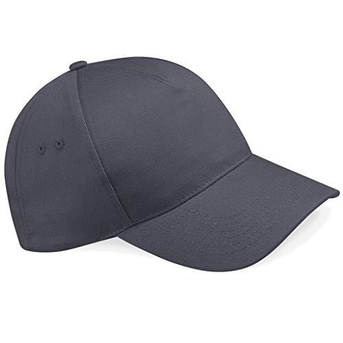Beechfield B15Ultimate, Baseball-Mütze mit 5 Panelen Gr. Einheitsgröße, graphit
