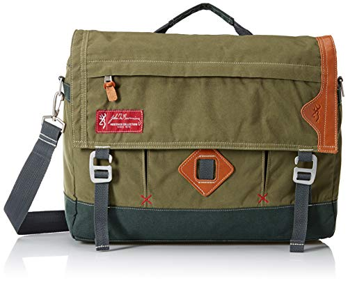 Browning Boone Messenger Bag | Duffel Green, 16x13x5