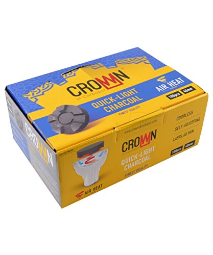 Paquet de charbon Carbopol - Crown - 40 mm - Ventilation