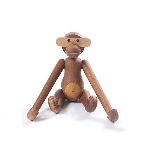 DecoracióN De Escritorio De Madera del Hogar del Mono