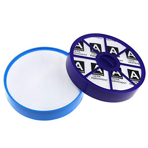 ENET 2-teilig HEPA Allergie Filter Set Vormotor-Filter und Nachmotor-Filter für Dyson Staubsauger DC19 DC20 DC21 DC29