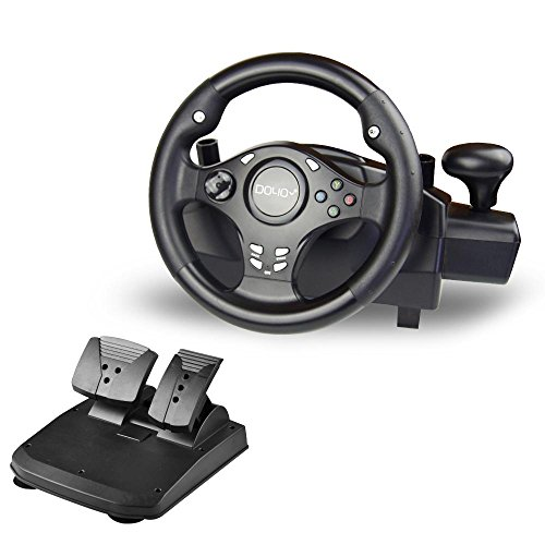 DOYO 270 Degree Rotation Pro Sport Racing Wheel for Multi Platform Compatible PS3/PS4/XBOX...