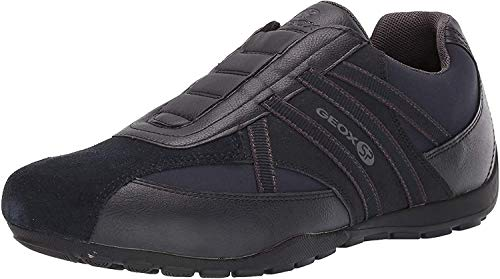 Geox Herren Atreus Boy 1 Sp Durable Sneaker Turnschuh, Navy, 41 EU
