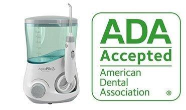 Aquapik 100 - Irrigador dental y Nasal único en el mundo (incluye 7 Boquillas y un espejo odontologico de exploración) Recomendado por dentistas y médicos de todo el mundo. Ideal para toda la familia.