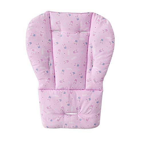 Funda para cojín de asiento de bebé, funda protectora transpirable para asiento de coche, lavable, plegable, para trona de bebé azul azul