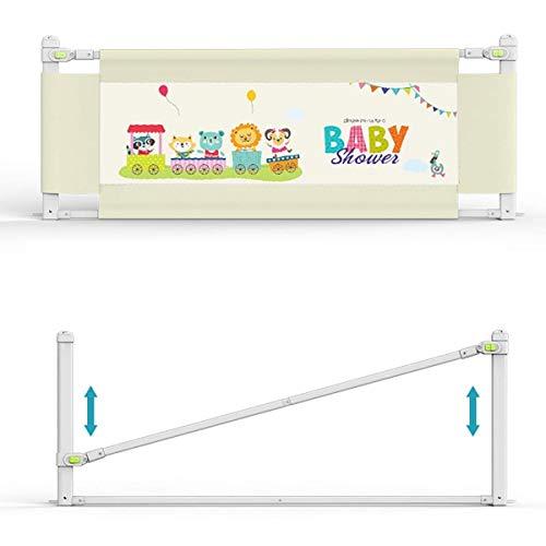 Kinder Bettgitter Minetom 150CM Bettschutzgitter Hebbar Bettgitter für Betten Bettgitter für Babys Universell für Alle Matratzen