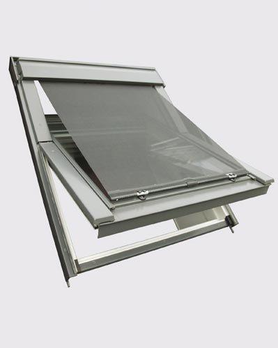 Easy-Shadow Original Hitzeschutz-Markise Fenstergröße M04 / MK04 / M06 / MK06 / M08 / MK08 - Hochwertige Hitzeschutzmarkise Aussenmarkise für Velux Dachfenster GGL/GPL/GHL/GGU/GPU/GHU - schwarz