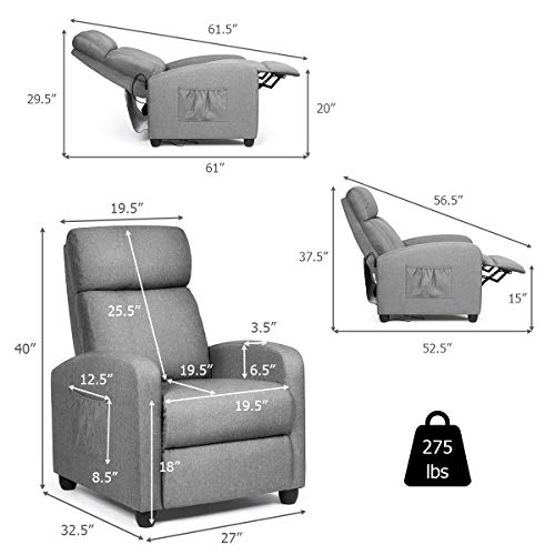 Giantex-Recliner-Massage-Chair-Ergonomic-Adjustable-Single-Sofa-with-Padded-Seat-Backrest-Footrest-Home-Theater-Seating-Reclining-Sofa-with-Remote-Control-Modern-Massage-Recliner-for-Living-Room