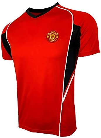 Manchester United Soccer Training Jersey L RED SIDE product image