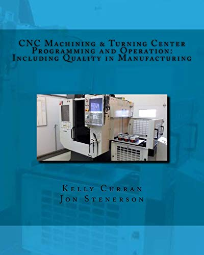 CNC Machining & Turning Center Programming and Operation: Including Quality in Manufacturing