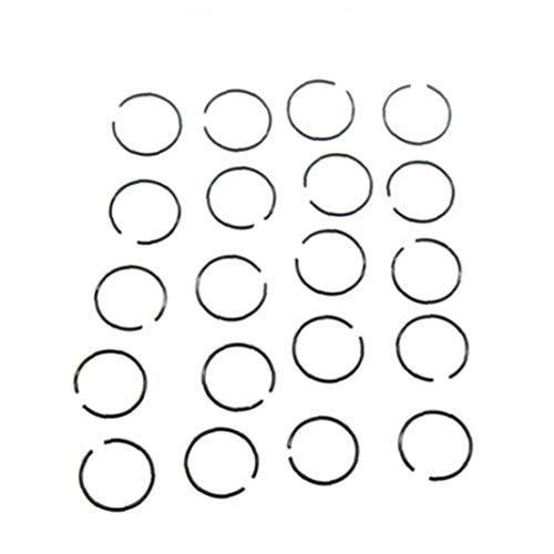 Aiaoway 20piece / Pendiente De La Nariz Conjunto Aro del Acero Inoxidable del Aro del Cartílago del Tabique Piercing Nariz Pequeña Joyería del Aro