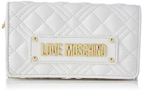 Love Moschino Precollezione SS21 | Portafoglio da Donna, Bianco, Normal