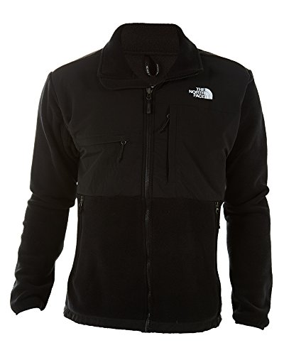 The North Face Men's Full Zip Denali Jacket, Recycled TNF Black, Large