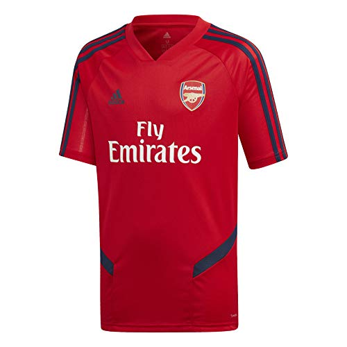 adidas Kid's Arsenal FC Training Jersey (Large) Scarlet/Collegiate Navy