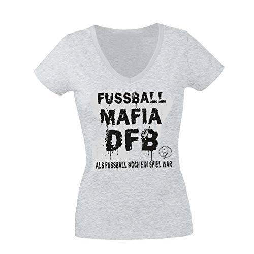 Volkspark Hamburg Streetwear Frauenshirt F_B_Mafia Grau S