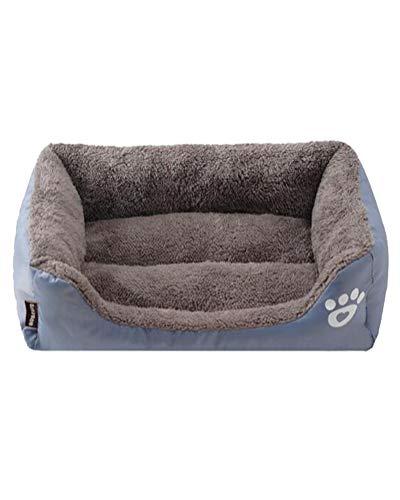 Suncaya Kuscheliges Haustierbett Waschbar Hundebett für Katzen und Hunde Ultra Weicher Plüsch Luxuriöse Haustierbett