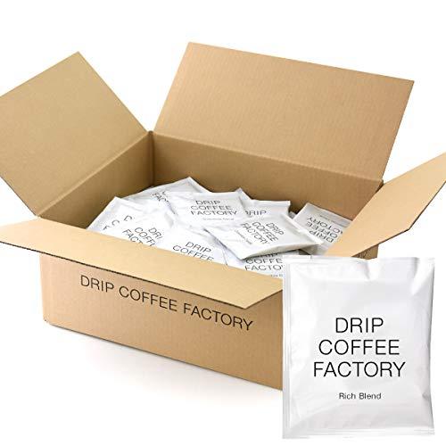 リッチ ブレンド 【 100袋 】 ドリップ パック コーヒー【大容量】| ドリップコーヒーファクトリー