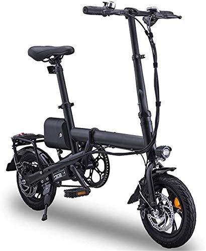 Bicicletta Elettrica, 12  bicicletta pieghevole elettrica adulti, pieghevole E-Bike leggeri con 350W   36V batteria Velocità massima 25 km   h for adulti e adolescenti e pendolari competere, di carico