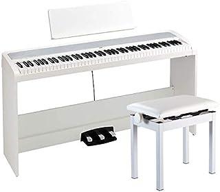 【コルグ純正高低自在椅子セット!】KORG コルグ 電子ピアノ B2SP WH