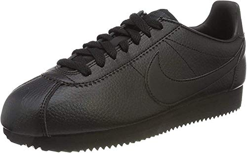 Nike Classic Cortez Leather, Scarpe da Fitness Unisex-Adulto, Nero Black-Anthracite, 44.5 EU