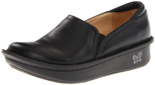 Alegria Women's debra Slip-On,Black Napa,41 EU/10.5 M US