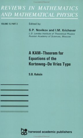 A KAM Theorem for Equations of the Korteveg-de Vries Type (Reviews in mathematics & mathematical physics)
