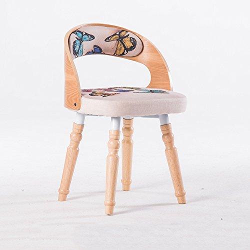 FEI Confortable Fauteuil PU chaise salon chaise Designer meubles pour salon bleu, rouge Solide et durable (Couleur : B(cloth))