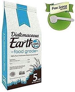 DiatomaceousEarth Food Grade DE 5 lb- Includes Free Scoop