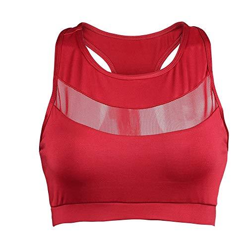 Zer one Sportbeha voor dames, 3 kleuren, racerback, sportbeha, toptank, high impact, workout, gym activewear beha