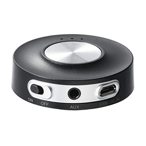 サンワダイレクト Bluetoothトランスミッター apt-X Low Latency 低遅延 2台同時送信 Bluetooth変換 PS4・Nintendo Switch 対応 400-BTAD004N