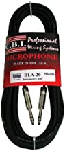 CBI Ultimate Series 1/4 TRS to 1/4 TRS Guitar Instrument Cable, 6 Feet