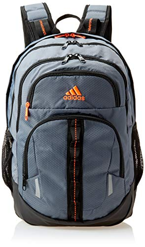 adidas Unisex Prime Backpack, Onix/ Black/ Solar Red, ONE SIZE