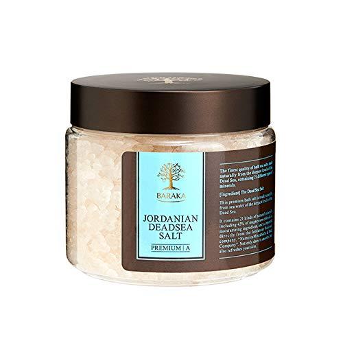 BARAKA(バラカ) ジョルダニアン デッドシー ソルト 500g 高級 バスソルト 入浴剤 ヨルダン産死海塩100% プレゼント 温活