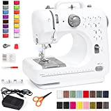Best Choice Products Compact Sewing Machine, 42-Piece Beginners Kit,...
