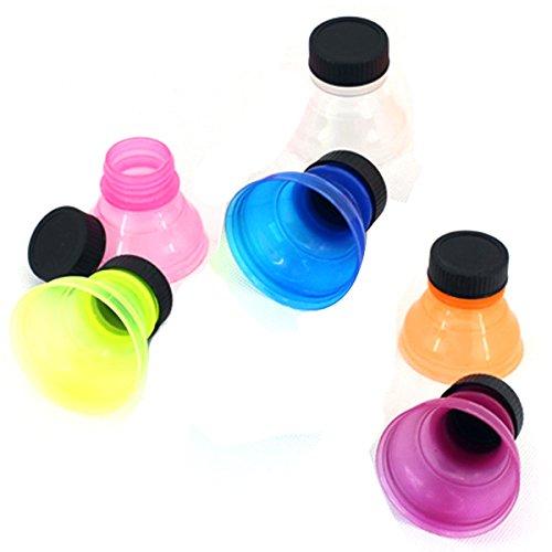 Tapas a presión para botellas de refrescos, reutilizables,