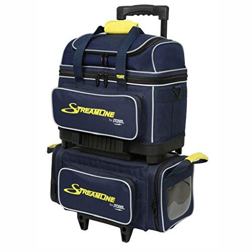 Storm Streamline 4 Ball Bag Navy/Gray/Yellow