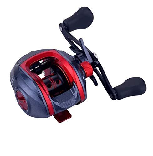RongWang Carrete de Pesca Ultraligero LF3000 LP300 Carrete de Pesca de 9 velocidades Carrete Reforzado Carrete de Alta Velocidad Carrete de Arrastre de Carpa Pesca (Color : A, Size : Left Hand)