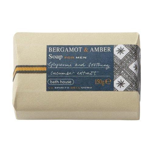 Bergamot & Amber For Men By The Bath House Soap 5.0 oz by Bath House