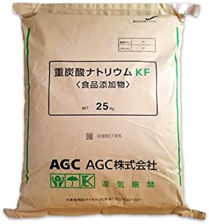 AGC製 重曹 25kg [02] 【同梱不可】炭酸水素ナトリウム 食品添加物(食品用)国産重曹 NICHIGA(ニチガ)