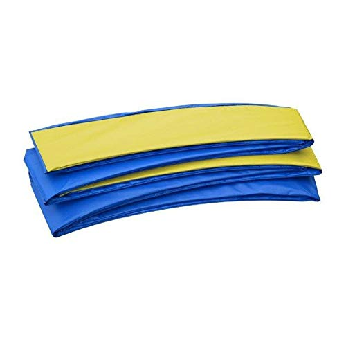 Upper Bounce Trampoline Replacement Safety Pad 9' x 15' Rectangular Trampoline - Yellow & Blue
