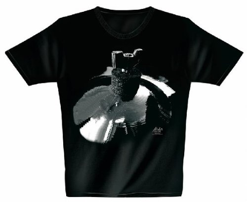 Rock You Drummer percussions T-shirt Surfing Cymbal XXL