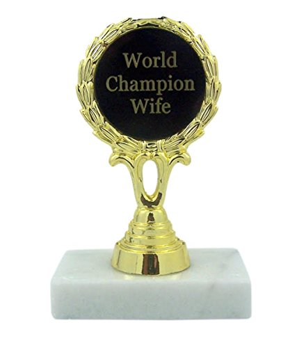 World Champion Wife Trophy Award Statue, 5 1/2 Inch