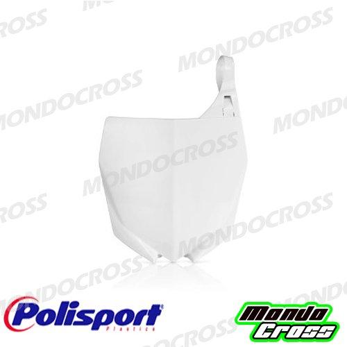 MONDOCROSS Tabella portanumero anteriore POLISPORT Bianco Colore OEM YAMAHA YZ 85 15-17