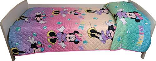Disney Trapuntino per letto singolo disegno Minnie 170 x 250 centimetri