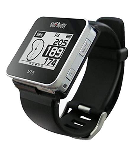 GolfBuddy VT3 Montre de Golf avec télémètre GPS Noir